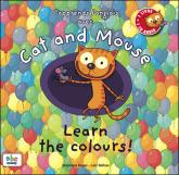 Pochette J'apprends l'anglais avec Cat and Mouse : learn the colors !