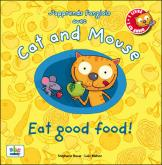 Pochette J'apprends l'anglais avec Cat and Mouse : eat good food !