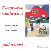 Pochette 22 sandwiches and a toast