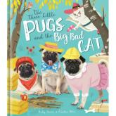 Pochette Three little pugs and the big bad wolf